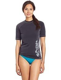 Women's Breeze UPF 50+ Short Sleeved Active Rashguard & Workout Top