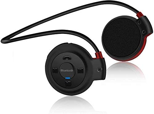 Auriculares Bluetooth Deporte, Estéreo Auricular V4.1 Deportivo Resistente al Sudor, Soporte Tarjeta TF Jugar y Radio FM, Cascos Inalámbricos Deportivos con Micrófono para Running, Fitness, Viajes: Amazon.es: Oficina y papelería