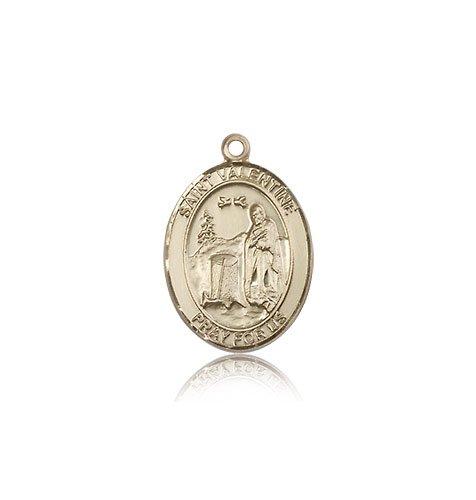 【第1位獲得!】 14 ktゴールドローマの聖バレンタインMedal B0039LPM8M, Strawberry Jam f0e9336a