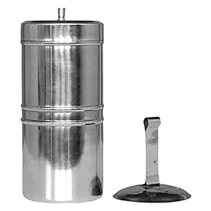 Buy JAYANTHI Stainless South Indian Filter Coffee Maker 200Ml, 4-6 Cups  Online at Low Prices in India - Amazon.in