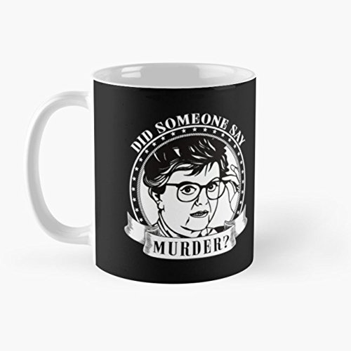 DID SOMEONE SAY MURDER - JESSICA FLETCHER MURDER SHE WROTE Mug