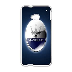 New Style Custom Picture Maserati sign fashion cell phone case for HTC One M7