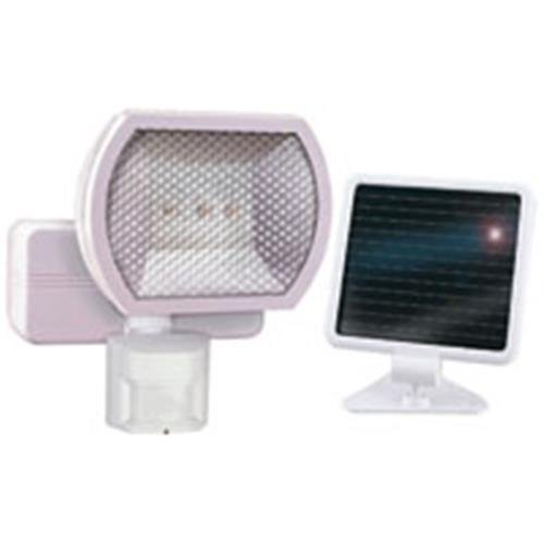 Heath Zenith HZ-7101-WH Solar Powered LED Motion-Sensing Security Light, White by Heath Zenith by Heath Zenith