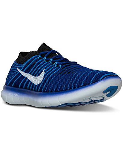 Nike Concord black Donna RN photo Free Arancione W Flyknit Scarpe da White Bianco Corsa Blue Motion rH4Trwvq
