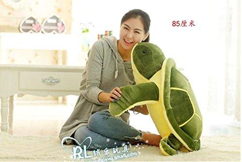 1pcs 85CM Big Plush Turtle Cute Jumbo Giant Large Stuffed
