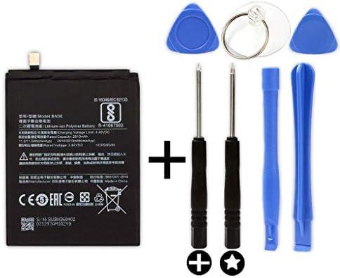 Bateria BN36 para XIAOMI MI A2 / 6X + Kit Herramientas/Tools: Amazon.es: Electrónica