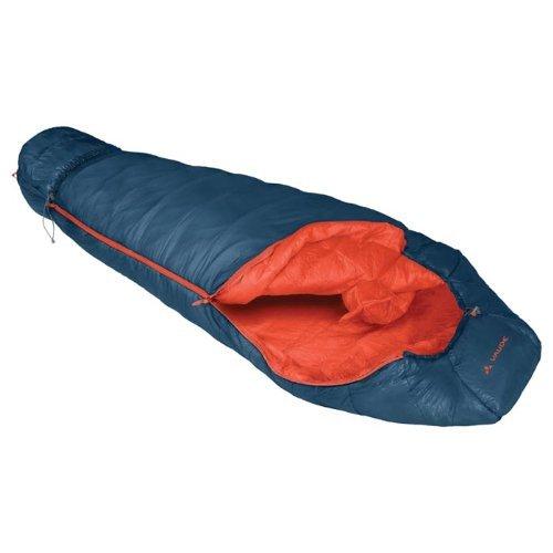 VAUDE Arctic 1200 11604 Sleeping Bag with Left-Hand Opening - Artificial Fibre - Deep Water Blue by Vaude