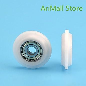 WillBest 5pcs 5257 mm Tipo Y Polea de nylon Polea de inyección ...