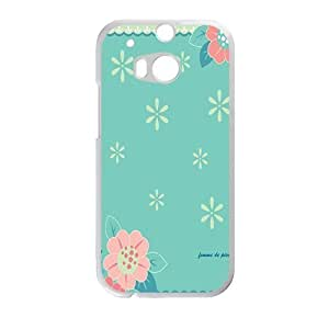 Cute flower cartoon personalized creative custom protective phone case for HTC M8