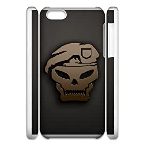 iphone 5c Cell Phone Case 3D Call Of Duty Black Ops Custom Made pp7gy_3396245