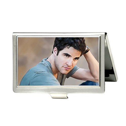 Darren Criss Custom Fashion Metal Stainless Steel Pocket Business Name Credit ID Card Case Box - Home Criss Darren