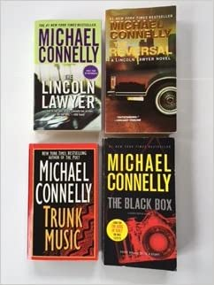 Michael Connelly 4 Book Set The Lincoln Lawyer The Reversal