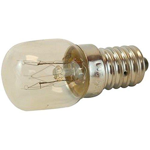 E14 15W 240V HIGH TEMP Lamps Halogen - E14 15W 240V HIGH TEMP, Lamp Base Type: Edison Screw/E14 (SES), Length: 19mm, Power Rating: 15W, Supply Voltage: 240V LLOYTRON793