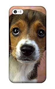 Hot Tpu Cover Case For Iphone/ 5/5s Case Cover Skin - Beagle Dog