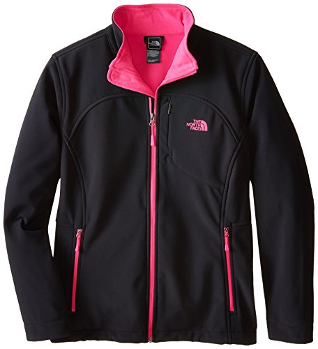The North Face Women's Apex Bionic Jacket TNF Black/Glo Pink Size Small ()