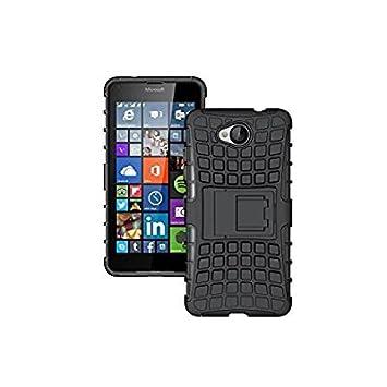 Dooki, Lumia 650 Carcasa, Supporter Flip Piel Sinté tica Funda Protectora Funda Carcasa Tipo Cartera para Microsoft Lumia 650 con cré dito Tarjeta Tenant Hendidura Lumia 650Carcasa DKN650HYD