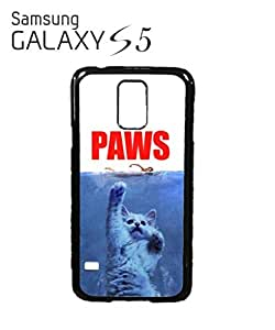 Paws Cat Kitten Meow Mobile Cell Phone Case Samsung Galaxy S5 Black