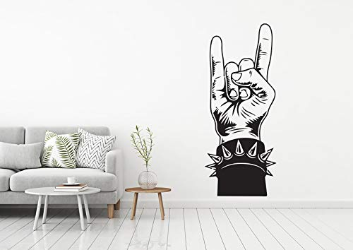 34c863a7d Image Unavailable. Image not available for. Color: Music Rock & Roll Wall  DecaMusic Wall Decal ...