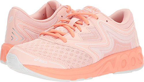 ASICS Kids Girl's Noosa GS (Big Kid) Seashell Pink/Begonia Pink/White 5.5 M US Big ()