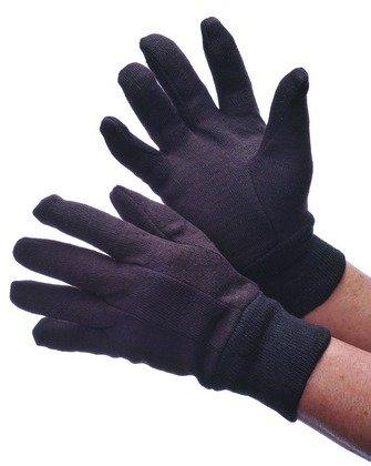 - Ladies' Brown Jersey Gloves Case Pack 300, new