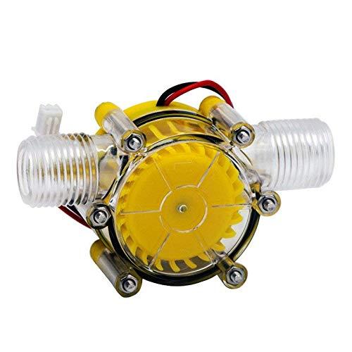 SODIAL 10W Water Flow Pump Mini Hydro Generator Turbine Flow Hydraulic Conversion 12V
