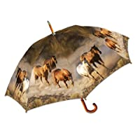 Wild Horses Stick Umbrella by LaSelva Designs
