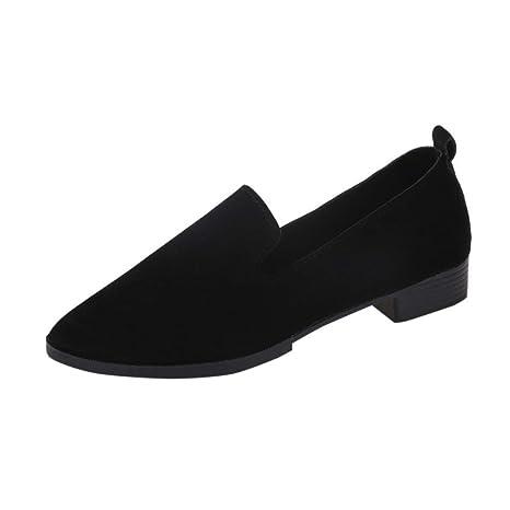 977e0eab86f Mocasines mujer , ❤️Amlaiworld Sandalias planas de mujer Mocasines de moda  sólida Calzado Zapatos al