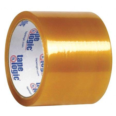 Natural Rubber Tape, 1.7 Mil, 3''x110 yds, Clear, PK24