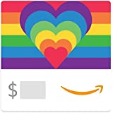 Amazon Gift Card - Rainbow Hearts