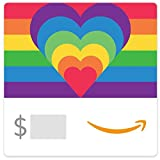 Amazon Gift Card.ca - Rainbow Hearts
