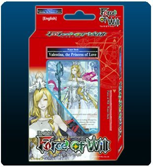 Valentina The Princess Of Love (Water) - Force of Will FOW Alice Cluster Twilight Wanderer Starter Deck - 51 cards