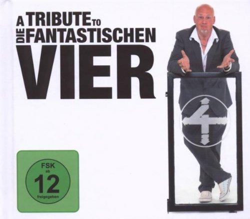 Various: A Tribute To Die Fantastischen Vier (Limited Edition mit Bonus-DVD im Hardcover Buch inkl. 48 seitigen Booklett, Doppel-CD + DVD) (Audio CD)
