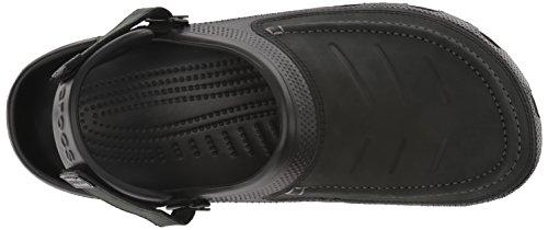 Yukon Clog Black Black Vista Crocs Men's Rq5wxzR7