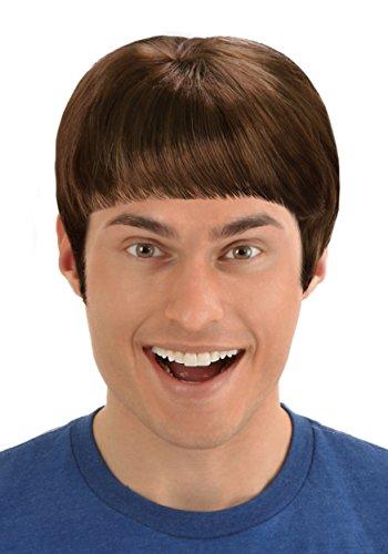 Brown Lloyd Wig (Dumb And Dumber Wig)