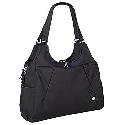Haiku Women\'s Renaissance Eco Laptop Tote Bag, Black Juniper
