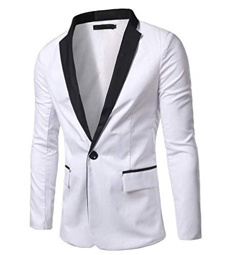 Traje Hombre De Lannister Negro Blanco Ropa Fashion Casual Clásico Y Negocios Slim Fit Chaqueta Hombres tUUqZFR