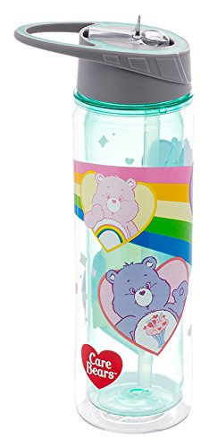 Vandor Care Bears 18 Ounce Tritan Water Bottle (29175)