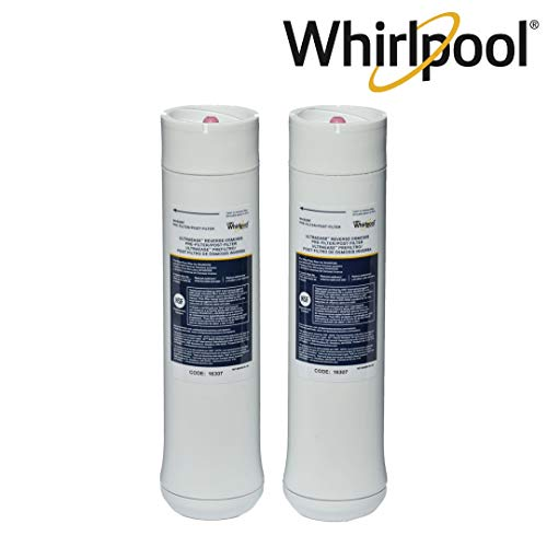 Whirlpool WHEERF Reverse Osmosis Replacement Water Filters| Pre/Post Catridges Fit WHAROS5, WHAPSRO & WHER25 Filtration Systems | 1 Set