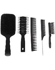 Practical Wide Teeth Comb Hair Comb Comb Set Convenient Professional For Home Hair Salon 5pcs / Set Barber Shop