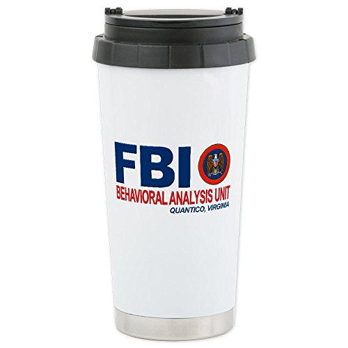 Criminal Minds FBI BAU Ceramic Travel Mug by CafePress