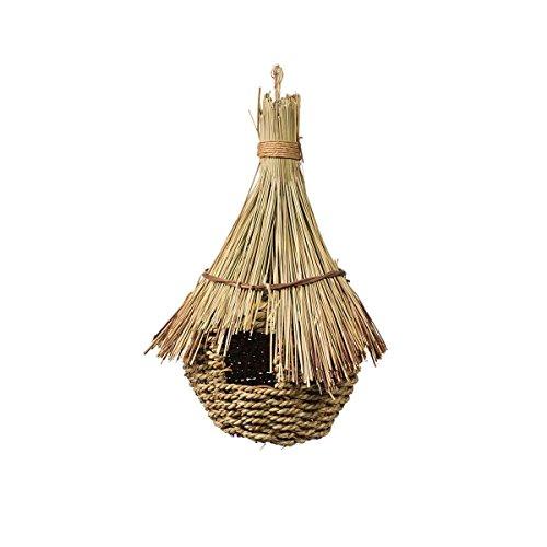 Prevue Pet Products Jumbo Grass Hut Bird Nest/House