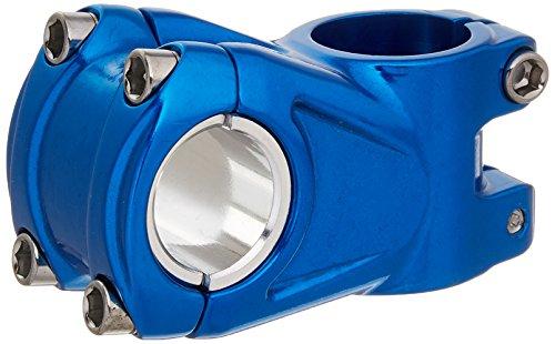 (Big Roc 57SATB12BE Stem, 28.6X50Mm, 31.8mm Bore, 25.4mm Adaptor, Alloy Blue)