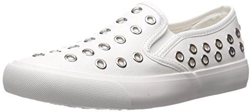 Qupid Dames Ovaal-01 Sneaker Wit