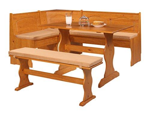 Nook Set Kitchen Cushion - Linon 90375BGE-01-KD Chelsea Cushion Set