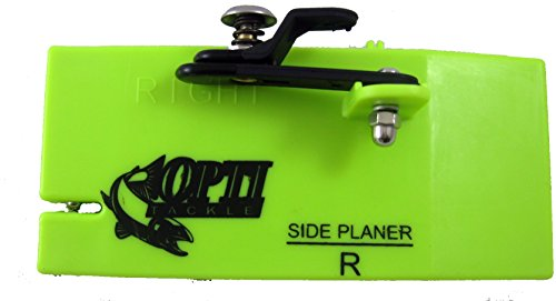 Opti Tackle Mini Planer Board with Ball Bearing System, Left