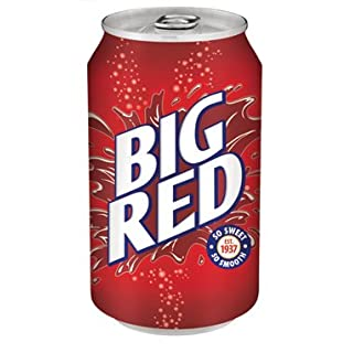 Big Red Soda Soft Drink, 12 Ounce (Pack of 24 Cans)