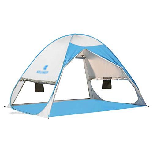 Parasol Miss Lumière Alpinisme Portable 3 À Pop Personnes Tente 2 up Auvent De Plage upUv Dos Camping Brightsilver Sac Pop Cabine proof amp;yg Pliant Soleil 0Nwn8vm