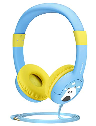 Mpow CH1 Kids Headphones w/85dB Volume Limited Hearing Protection &