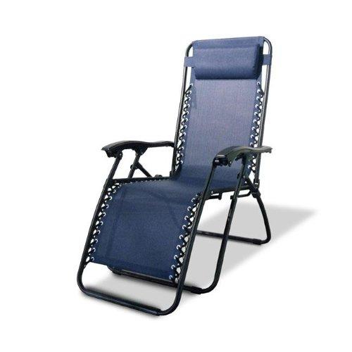 Caravan Sports Infinity Zero Gravity Reclining Chair 2PK Blue For Sale