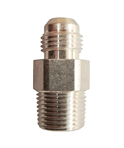 6AN Male Flare to 3//8 NPT Pipe Adapter